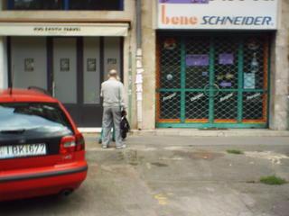 random street scene