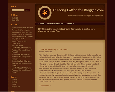 Ginseng Coffee Screenshot