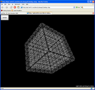 3D cube animation XBAP in Firefox using IETab