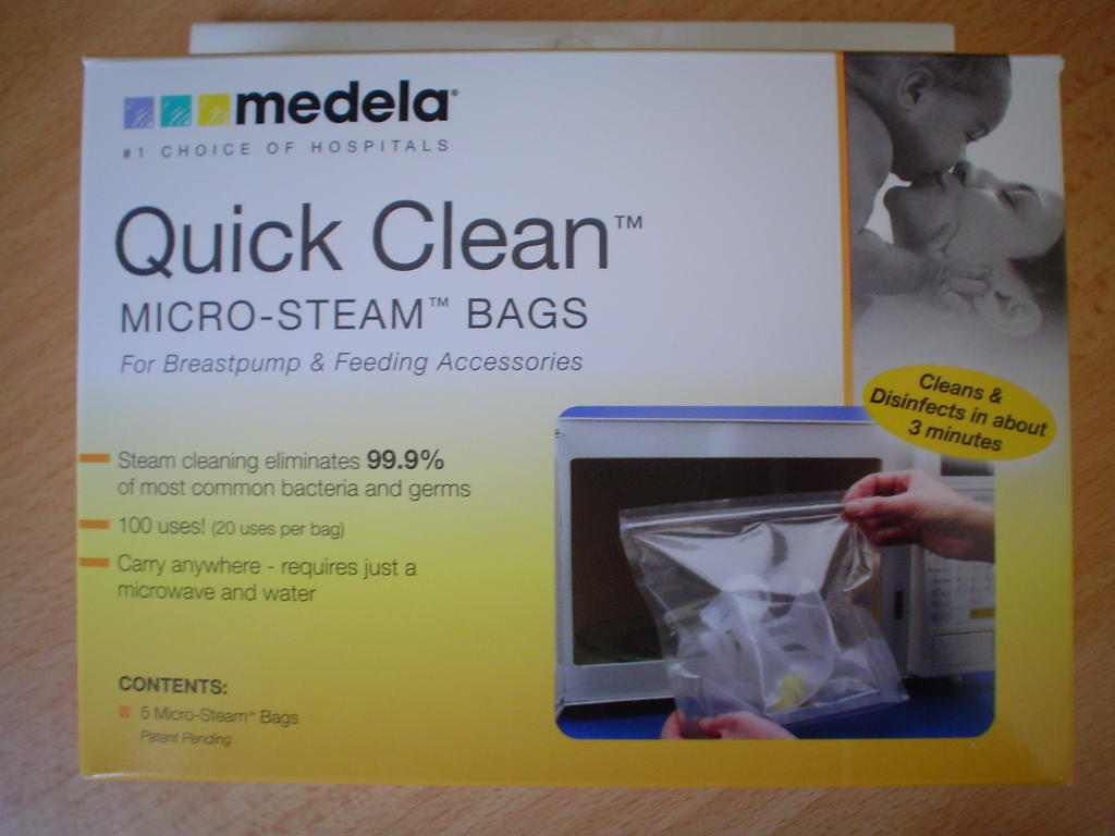 Product Review Medela Quick Clean Micro Steam Bags
