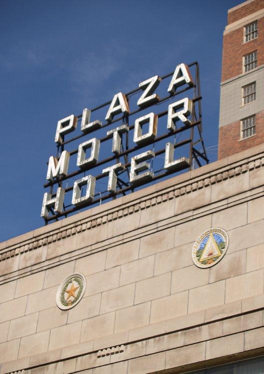 El Chuco Plaza Motor Hotel Corner Of Oregon And Mills