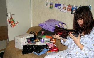 abby.... presents!!