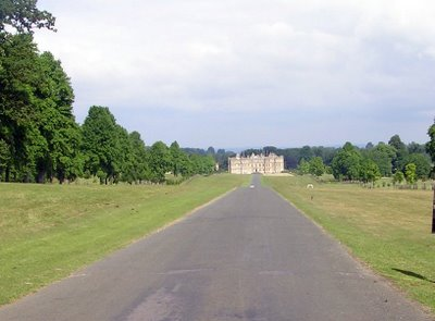 the drive to longleat house