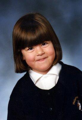 abby aged 5