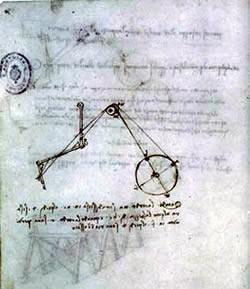 Da Vinci Robot Sketch