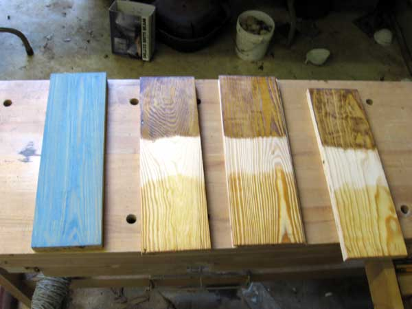 Tung Oil Over Milk Paint