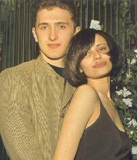 Vladimir with his fiance', Olga
