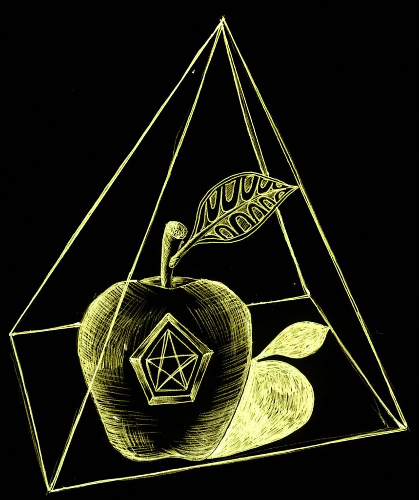 The brave new world order eris nasa madonna the pope i made these drawings last year without conscious awareness of the five pointed star inside an apple biocorpaavc Image collections
