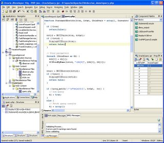 Figure 2, Oracle JDeveloper 10g PHP Extension
