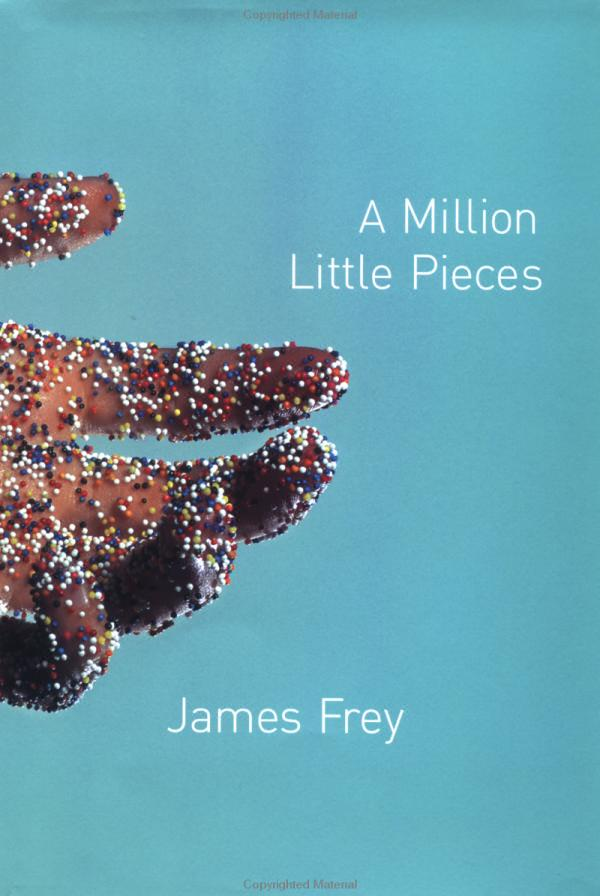 a report on a million little pieces an autobiography by james frey A million little pieces by frey, james and a great selection of similar used, new  and  first edition hard back binding in publisher's original navy blue paper   this book was advertised as the heartbreaking memoir of james frey who at the .