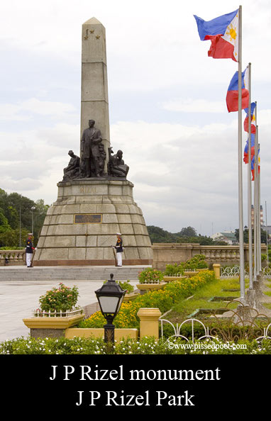 Monuments of Dr. Jose P. Rizal Around the World