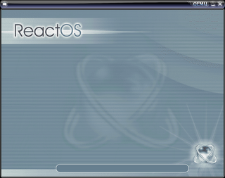 ReactOS Splash Screen