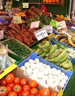 Provisions at Shepherds Bush Market