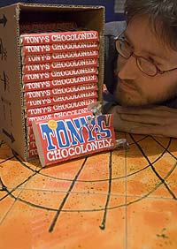 Me and a lot of Tony's Chocolonely's