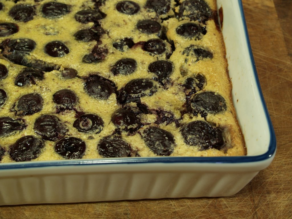 Christine Cooks: Low Carb Cherry Almond Clafoutis