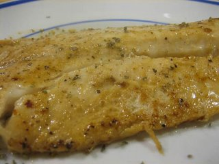Christine cooks tilapia pan seared for Is tilapia a bottom feeder fish