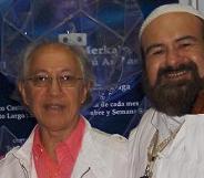 Arq. Dr. Leonell Lechuga del Espacio Metatron con el Sheikh GG::