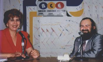 En Radio Cadena Enciso de Ensenada, Baja California Norte, con lal Comunicadora Martha Elena Cantúa