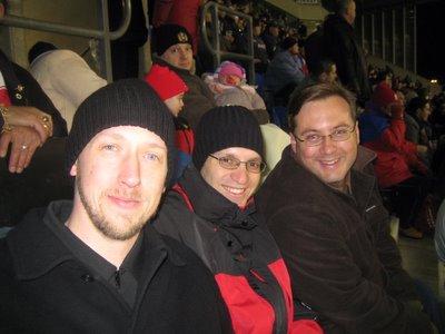 Myself, Icaro (Brazil), and Steve (Australia)