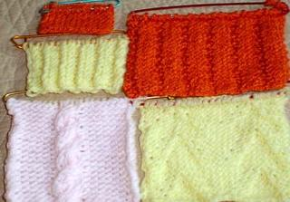 Stitches Midwest homework swatches