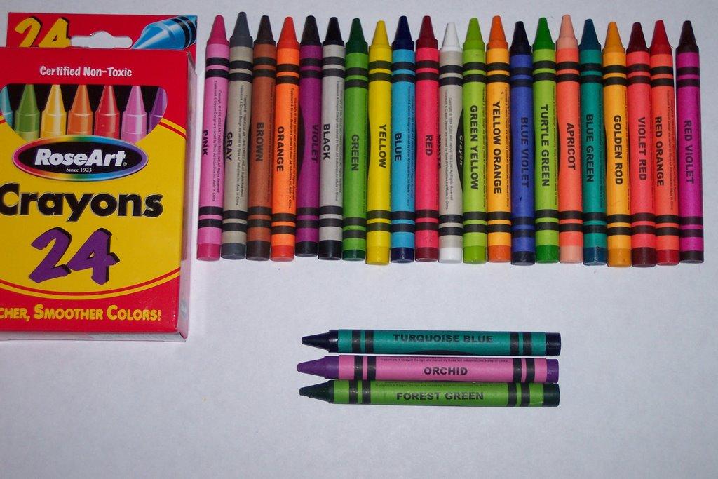 Crayola colored pencils 24