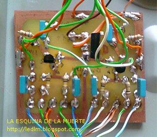 Mezclador de audio estéreo a FETs