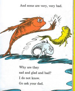 Delenda est carthago what 39 s up with dr seuss being the for Why fish is bad for you