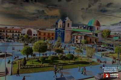 Plaza Constitución, Huancayo Perú