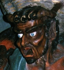 The Rennes church demon-guardian