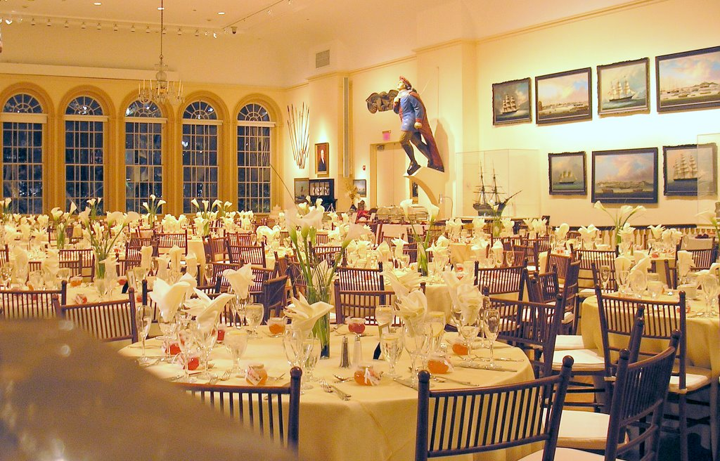 these are snapshots of a recent wedding catered by hawthorne catering at the east india marine hall of the peabody essex museum pem