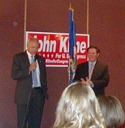 John Kline and Tom DeLay