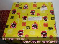 the parcel from Tiwi