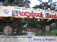 Storybook Land Entrance