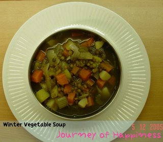 Winter Vegetables Soup