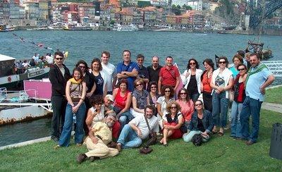 Crica para veres a pinta da malta que foi ao passeio no Douro. A São Rosas não está ali porque foi ela a fodógrafa