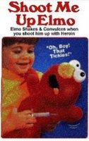 Elmo's arm hurts