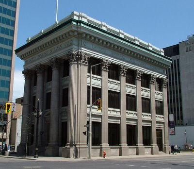 An old bank still stands to this day in our old city