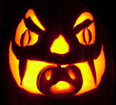 Ever have one of those days?  Apparently even pumpkins can too!