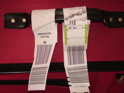 This is a test of the rendundancy bag tagging service