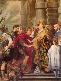 Ambrose and Theodosius