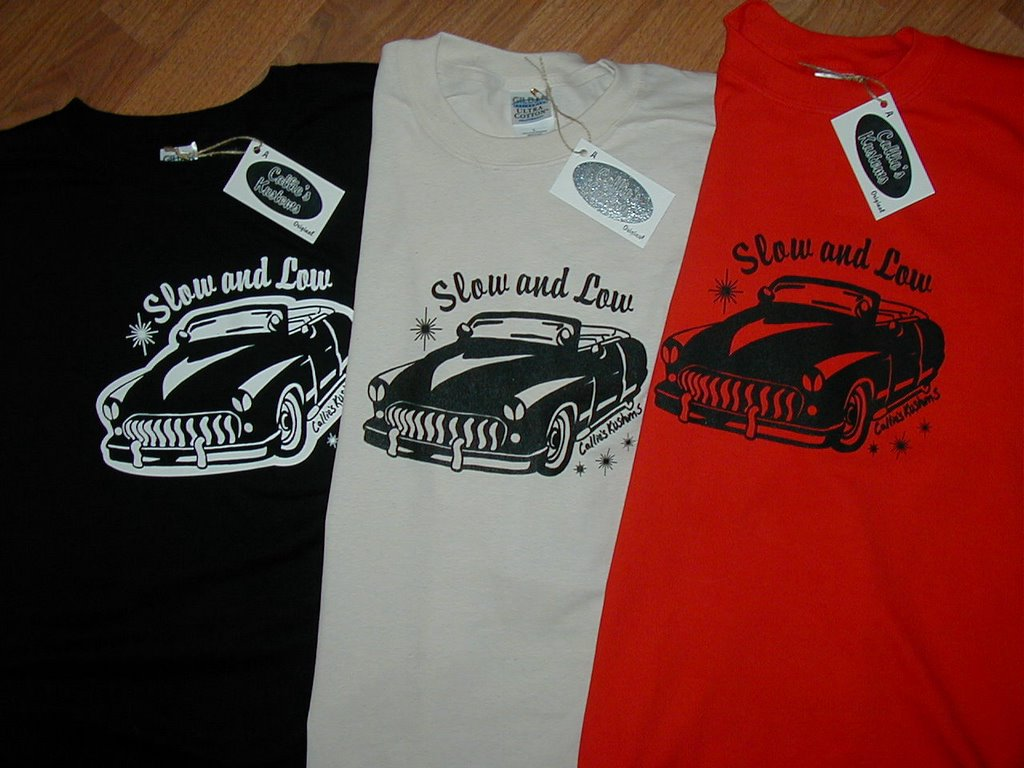 Funny T-shirts and Cool Cars