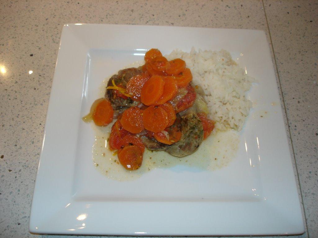 Dom cuisine osso bucco - Cuisine italienne osso bucco ...