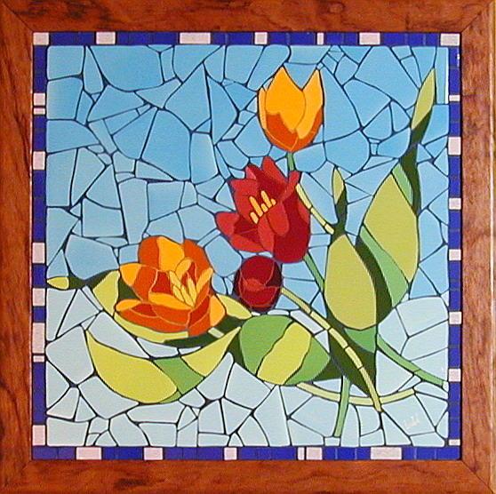 Lulu Mosaicos: Jardín de Flores