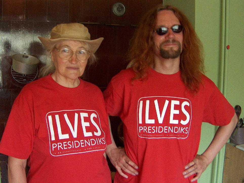 Ilves presidendiks!