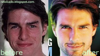 Tom Cruise Nose Paramount Pictures Perfect Symmetry face
