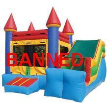 Nanny Bans Bouncy Castles