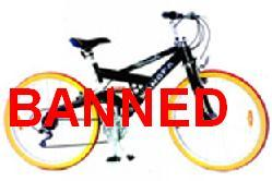 Nanny Bans Bicycles