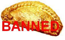 Nanny Bans Cornish Pasties