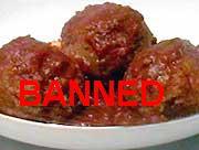 Nanny Bans Meatballs