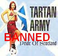 Nanny Bans Tartan Army
